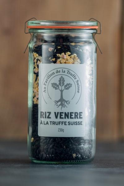 Riz venere à la Truffe Suisse