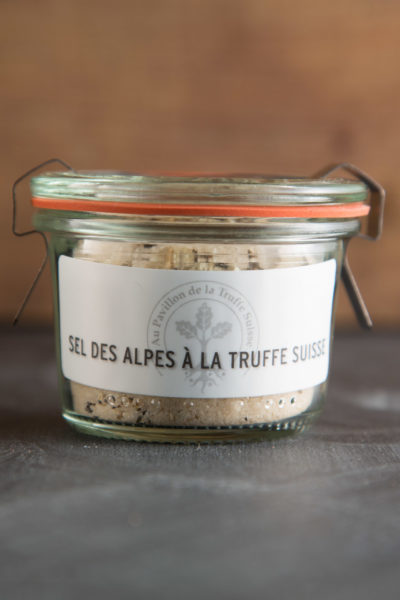 Sel des alpes à la Truffe Suisse