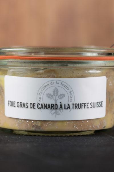 Foie gras de canard à la Truffe Suisse