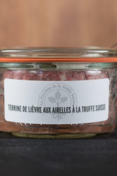 Terrine de lièvre aux airelles à la Truffe Suisse