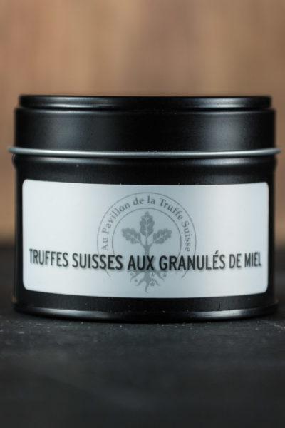 Truffes Suisses aux granulés de miel