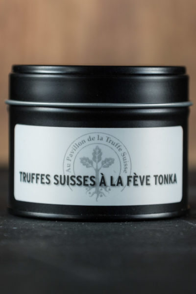 Truffes Suisses à la fève tonka